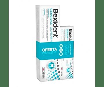 Bexident Gengivas Pasta dentífrica 75 ml com Oferta de Pasta de 25 ml
