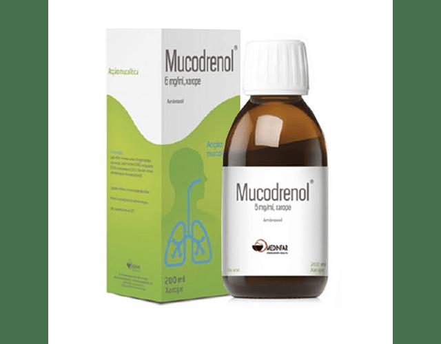 Mucodrenol, 6 mg/mL- 200 mL x 1 xar medida