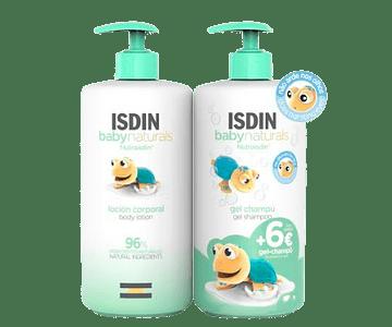 ISDIN BabyNaturals Loção Corporal 750 mL + Gel-Champô 750 mL