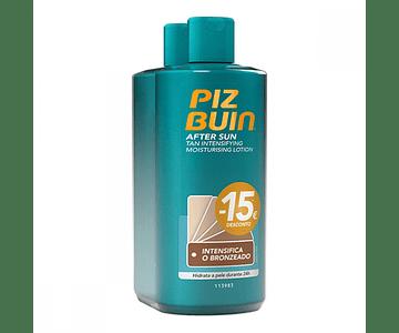 Piz Buin After Sun Loção Hidratante Intensificadora de Bronzeado 2x200 mL
