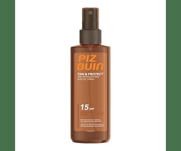 Piz Buin Tan Protect Óleo Spray Acelerador SPF 15 150 mL