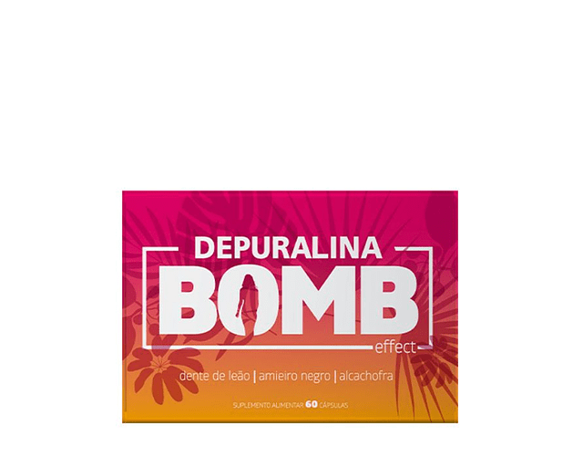 Depuralina Bomb Effect Cápsulas Perda De Peso 60 unidades
