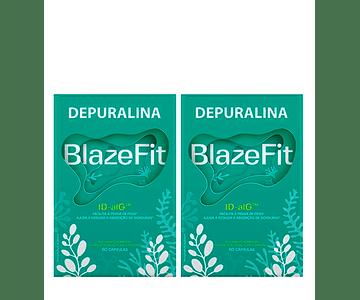 Depuralina Blaze Fit 60 cápsulas DUO (- 50% desconto 2ª unidade)