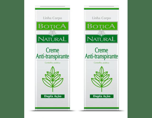 Botica Natural Creme Antitranspirante DUO (-50% na 2ª unidade)