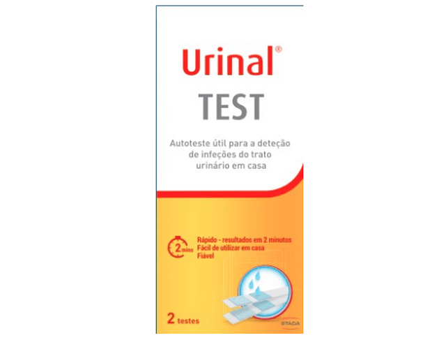 Urinal Teste de Infeção Urinária x 2 unidades