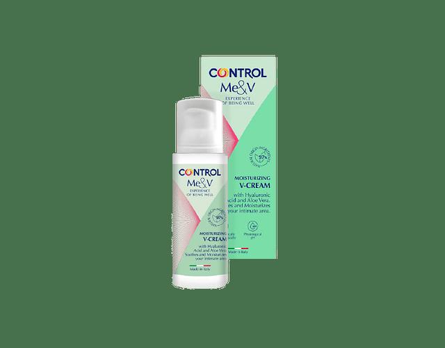 Control Me&V Creme Hidratante Vaginal 50 mL