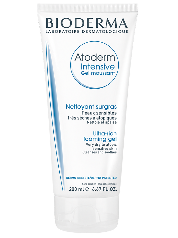 Bioderma Atoderm Intensive Gel Moussant 200 mL