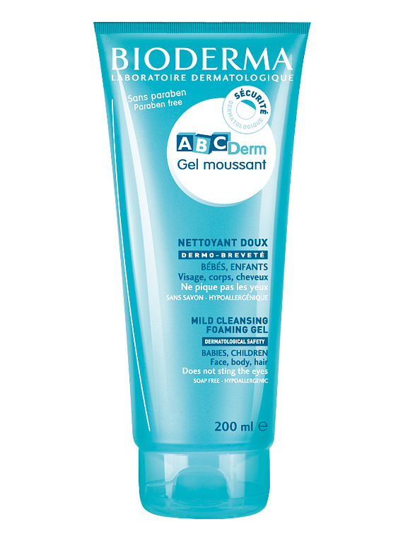 Bioderma ABCDerm Gel moussant 200 mL
