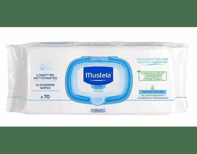 Mustela Bebe Toalhetes de Limpeza com Perfume 70 unidades