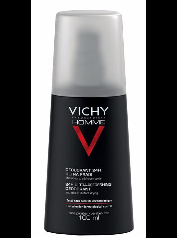 Vichy Homme Desodorizante Spray 24 horas 100mL