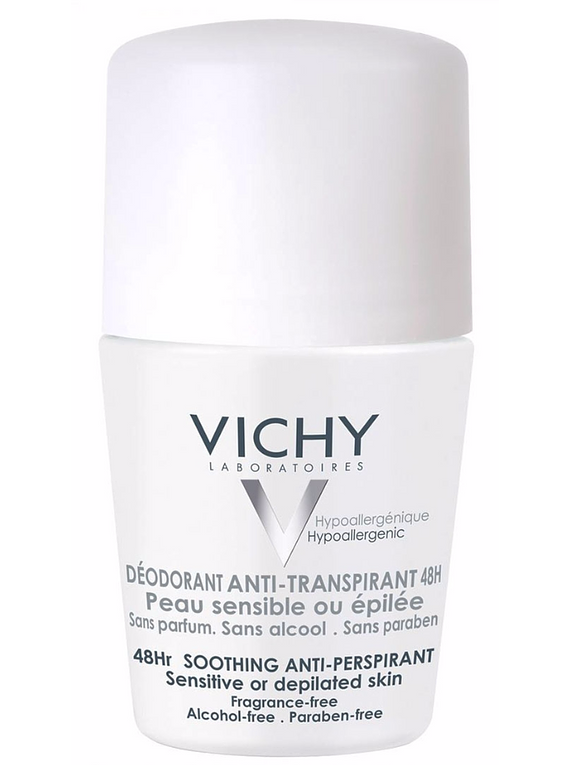 Vichy Desodorizante Pele Sensível Roll-On 50 mL