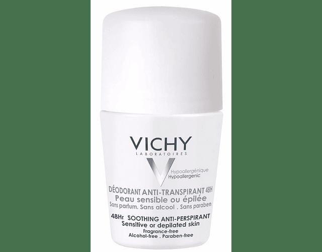 Vichy Desodorizante Pele Sensível Roll-On 2x50 mL