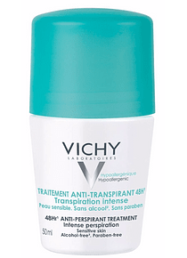 Vichy Desodorizante Transpiração Intensa Roll-On 50 mL