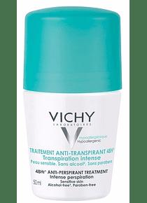 Vichy Desodorizante Transpiração Intensa Roll-On 50 mL
