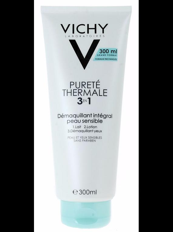 Vichy Pureté Thermale Desmaquilhante Integral 3 em 1 Creme 300 mL