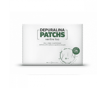 Depuralina Patchs Ventre Liso 28 Adesivos