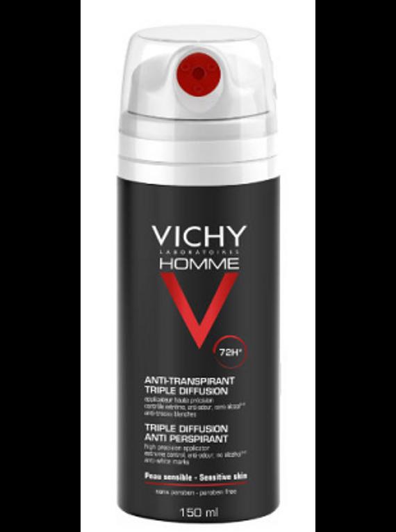 Vichy Homme Spray Desodorizante 72 horas 150 mL