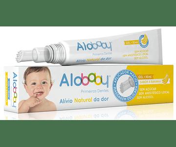 Alobaby Primeiros Dentes Gel Alívio Natural 10 mL