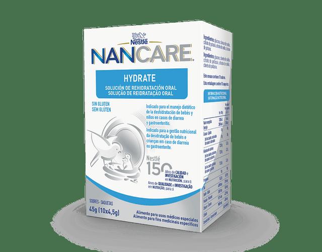 Nestlé Nancare Hydrate Solução de Reidratação Oral Saquetas x 10