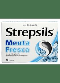 Strepsils Menta Fresca 16 pastilhas