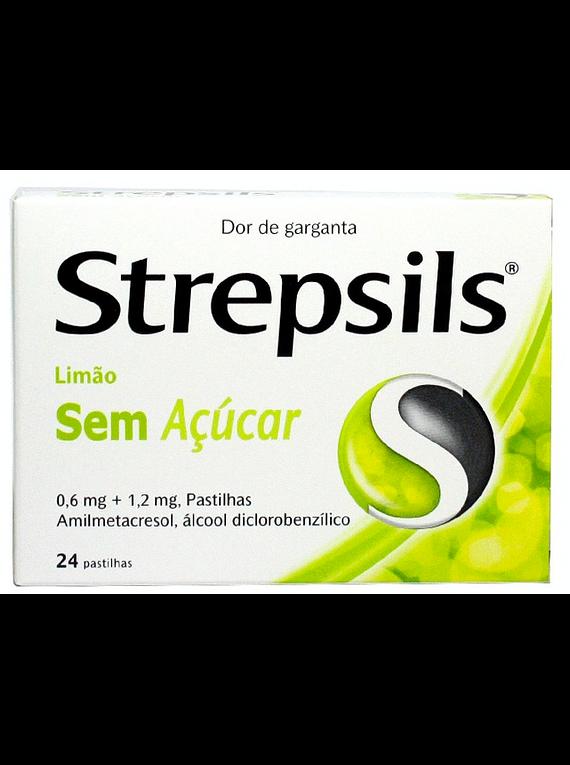 Strepsils Limão sem açúcar 24 pastilhas