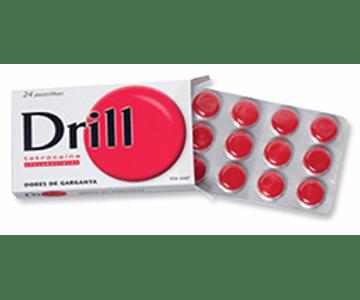 Drill 3/0,2 mg 24 pastilhas