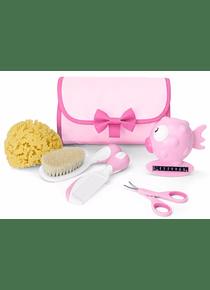 Chicco Conjunto de Higiene Menina +0 meses Rosa