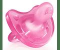 Chicco Chupeta Physio Soft Silicone 16-36 meses Rosa