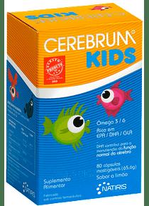 Cerebrum Kids 80 cápsulas mastigáveis