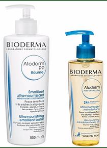 Bioderma Pack Atoderm Baume PP + Óleo de Duche