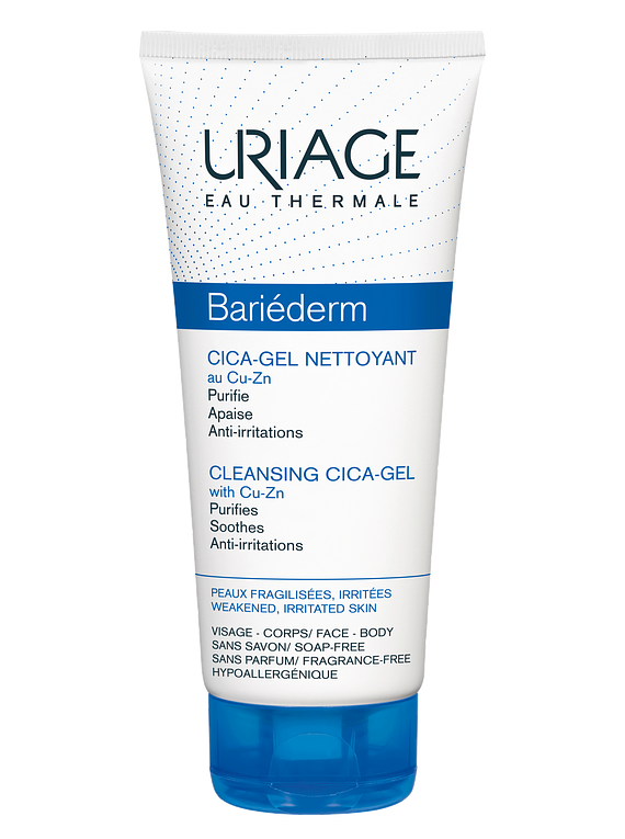 Uriage Bariéderm Cica Gel Limpeza 200 mL
