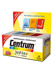 Centrum Junior 60 comprimidos mastigáveis