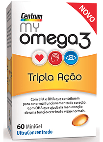Centrum My Omega3 60 cápsulas