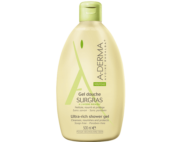 A-Derma Gel de Duche Gordo 500 mL
