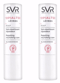 SVR Topialyse Pack Duplo Stick Labial 4g