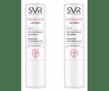 SVR Topialyse Pack Duplo Stick Labial 4g