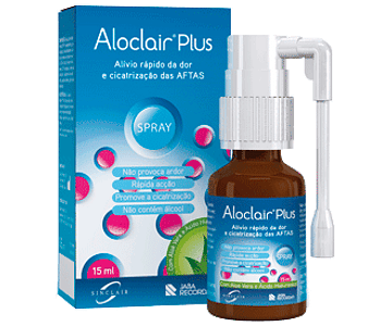 Aloclair Plus Spray Oral 15 mL