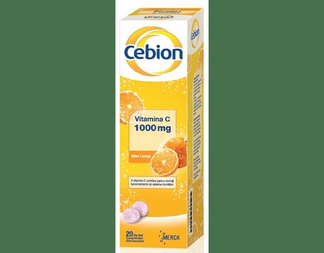 Cebion Laranja 20 Comprimidos Efervescente