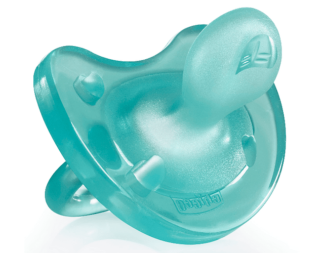 Chicco Chupeta Physio Soft Silicone 0-6 meses Azul