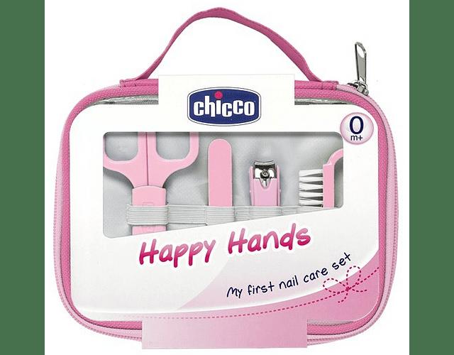 Chicco Conjunto Happy Hands Rosa