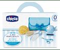 Chicco Conjunto de Higiene +0 meses Azul