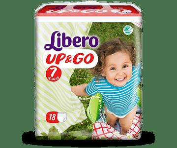 Libero Fralda Up & Go (T7)