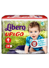 Libero Fralda Up & Go (T4)