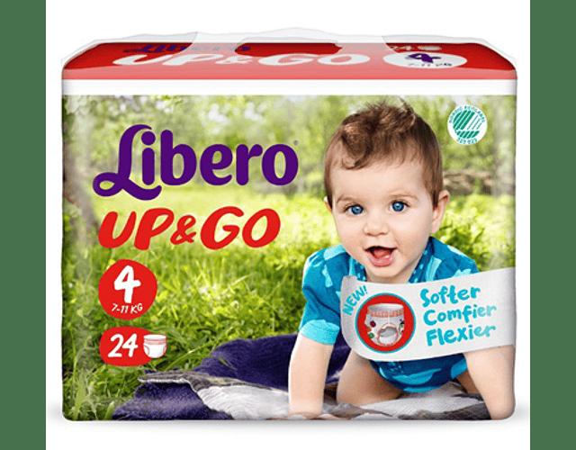 Libero Fralda Up & Go (T4)