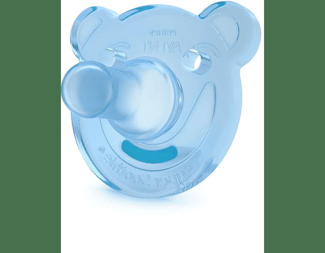 Philips Avent Soothies Chupetas de Silicone 0-3 meses 2 unidades