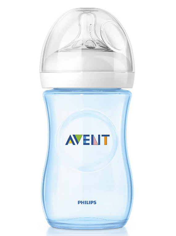 Philips Avent Biberão Natural 260 mL Azul