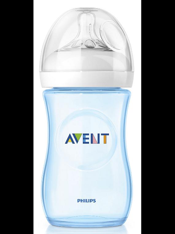 Philips Avent Biberão Natural 260 mL Azul