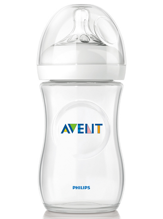 Philips Avent Biberão Natural 260 mL Branco