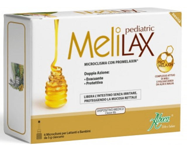 Melilax Pediátrico 5gr 6 unidades