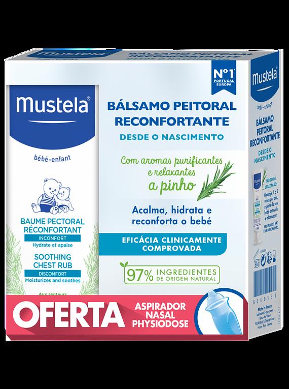 Mustela Bebé Bálsamo Reconfortante 40 mL + Aspirador Nasal Physiodose (OFERTA)